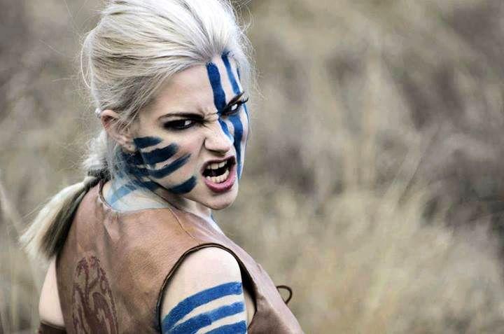 Unknown Model Celtic War Paint